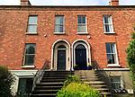 Georgian terraced housing, Ranelagh district, city of Dublin, Ireland, Irish Republic