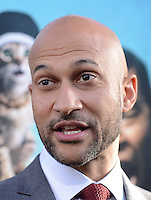 Keegan-Michael Key @ the premiere of 'Keanu' held @ the Cinerama Dome theatre.<br /> April 27, 2016