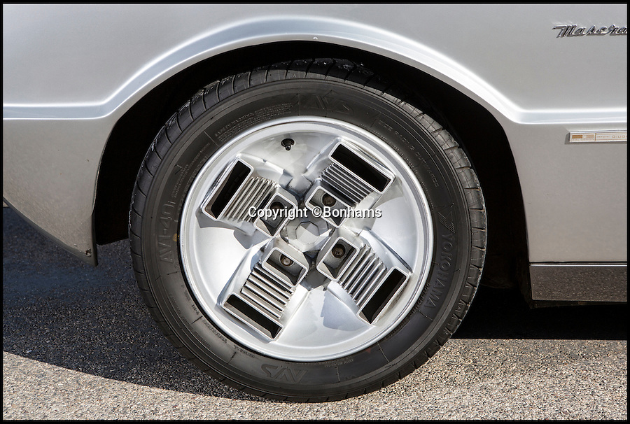 BNPS.co.uk (012902 558833)<br /> Pic: Bonhams/BNPS<br /> <br /> Wacky wheels.<br /> <br /> Glass act - The return of the Boomerang.<br /> <br /> Futuristic Maserati from over 40 years ago still looks cutting edge today.<br /> <br /> A one-of-a-kind Maserati supercar is tipped to fetch a whopping £3million when it comes up for auction at Bonhams.<br /> <br /> The Maserati Boomerang, a signature concept car built in the 1970s, looks like something Marty McFly would travel Back To The Future in, with its geometric shapes and straight lines.<br /> <br /> The one-off prototype that was first unveiled at the 1971 Turin Motor Show when it would have been unlike anything that had ever been seen is to be sold by auctioneers Bonhams.