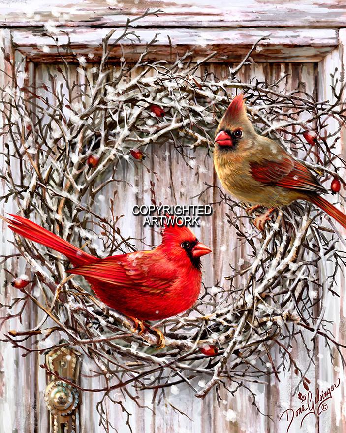 Birds For Christmas Tree