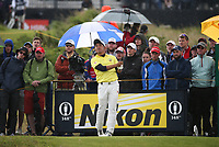 Takumi Kanaya (A) (JPN) during Round One of the 148th Open Championship, Royal Portrush Golf Club, Portrush, Antrim, Northern Ireland. 18/07/2019. Picture David Lloyd / Golffile.ie<br /> <br /> All photo usage must carry mandatory copyright credit (© Golffile | David Lloyd)