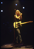 Tom Petty and the Heartbreakers performing on the Rock and Roll Caravan Tour at Poplar Creek in Hoffman Estates, Illinois.<br /> June 20,1987<br /> CAP/MPI/GA<br /> &copy;GA/MPI/Capital Pictures