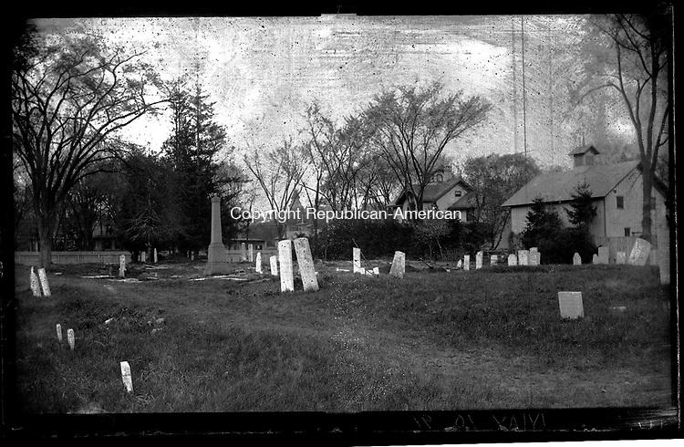 Frederick Stone negative.<br />Grand Street Cemetery - 1891.
