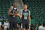 DENTON TEXAS, October 18: University of North Texas Basketball Mean Green Madness in the Super Pit on October 18, 2018 (Photo Rick Yeatts Photography/Colin Mitchell)