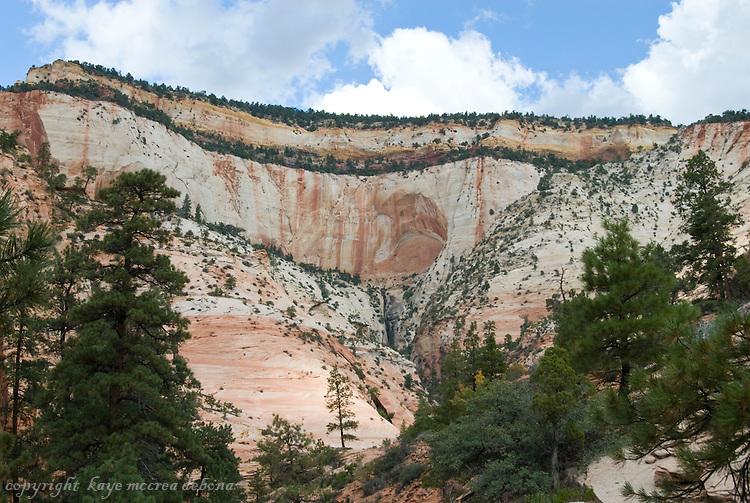 Mount Carmel Highway Landscapes - Zion National Park & Kolob Canyons
