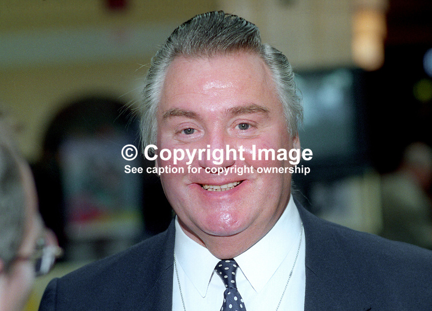 Geoffrey Dickens, MP, Conservative Party, UK, October, 1993, 1993107504<br />