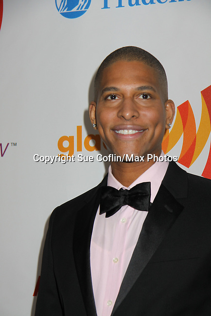 Nathan Williams at the 22nd Annual Glaad Media Awards honoring Ricky Martin (GH) & Russell Simmons on March 19, 2011 at the New York Marriott Marquis, New York City, New York. (Photo by Sue Coflin/Max Photos)