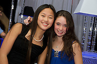 Girls having fun at a Bat Mitzvah