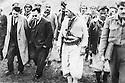 Iraq 1963   <br /> In Kani Mara, Mustafa Barzani welcoming Tahir Yahya, the Iraqi Prime minister. Behing the Prime minister, Anwar Beg Betwata   <br /> Irak 1963 <br /> A Kani Mara, le general Barzani recoit Tahir Yahya, premier ministre irakien, derriere le premier ministre, Anwar beg Betwata.