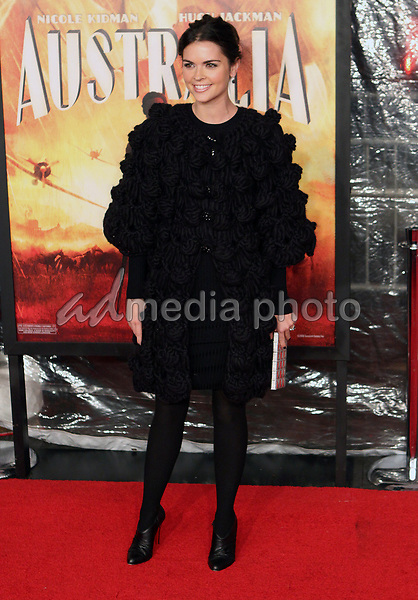 24 November 2008- New York, NY-Katie Lee Joel  arriving to the New York Premiere of Australia.<br /> Photo Credit: Paul Zimmerman/AdMedia