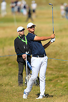 Christiaan Bezuidenhout (RSA) on the 16th during Round 1 of the Dubai Duty Free Irish Open at Ballyliffin Golf Club, Donegal on Thursday 5th July 2018.<br /> Picture:  Thos Caffrey / Golffile