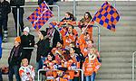 V&auml;ster&aring;s 2015-02-14 Bandy SM-kvartsfinal 1 V&auml;ster&aring;s SK  - Bolln&auml;s GIF :  <br /> Bolln&auml;s supportrar Flames med flaggor under matchen mellan V&auml;ster&aring;s SK  och Bolln&auml;s GIF <br /> (Foto: Kenta J&ouml;nsson) Nyckelord:  Bandy SM SM-kvartsfinal Kvartsfinal Slutspel Elitserien ABB Arena Syd V&auml;ster&aring;s SK VSK Bolln&auml;s GIF BGIF Giffarna supporter fans publik supporters