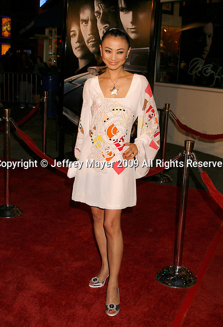 """UNIVERSAL CITY, CA. - March 12: Bai Ling  arrives at the Los Angeles premiere of """"Fast & Furious"""" at the Gibson Amphitheatre on March 12, 2009 in Universal City, California."""