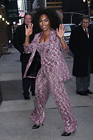 MAR 13 Angela Bassett  At The Late Show With Stephen Colbert