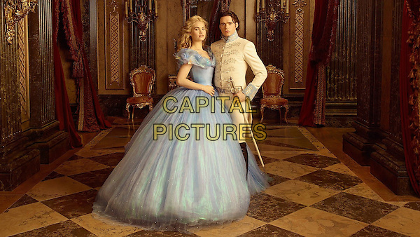 Lily James, Richard Madden<br /> in Cinderella (2015) <br /> *Filmstill - Editorial Use Only*<br /> CAP/FB<br /> Image supplied by Capital Pictures