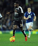 Nathan Dyer of Leicester City<br /> - Barclays Premier League - Everton vs Leicester City - Goodison Park - Liverpool - England - 19th December 2015 - Pic Robin Parker/Sportimage
