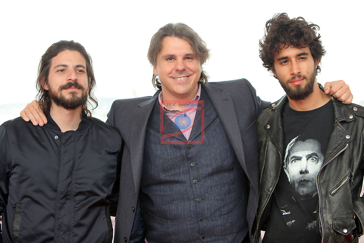 49 Festival Internacional de Cinema Fantastic de Catalunya-Sitges 2016.<br /> Photocall Blood Red Carpet.<br /> Victor Dryere, Raul Cerezo &amp; Emiliano Rocha.
