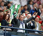 Brendan Rodgers with Scottish Cup
