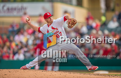 2 March 2013: St. Louis Cardinals pitcher Eric Fornataro on the mound during a Spring Training game against the Washington Nationals at Roger Dean Stadium in Jupiter, Florida. The Nationals defeated the Cardinals 6-2 in their first meeting since the NLDS series in October of 2012. Mandatory Credit: Ed Wolfstein Photo *** RAW (NEF) Image File Available ***