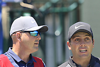 Francesco Molinari (ITA) and caddy Pello on the 10th tee during Saturday's Round 3 of the 118th U.S. Open Championship 2018, held at Shinnecock Hills Club, Southampton, New Jersey, USA. 16th June 2018.<br /> Picture: Eoin Clarke | Golffile<br /> <br /> <br /> All photos usage must carry mandatory copyright credit (&copy; Golffile | Eoin Clarke)