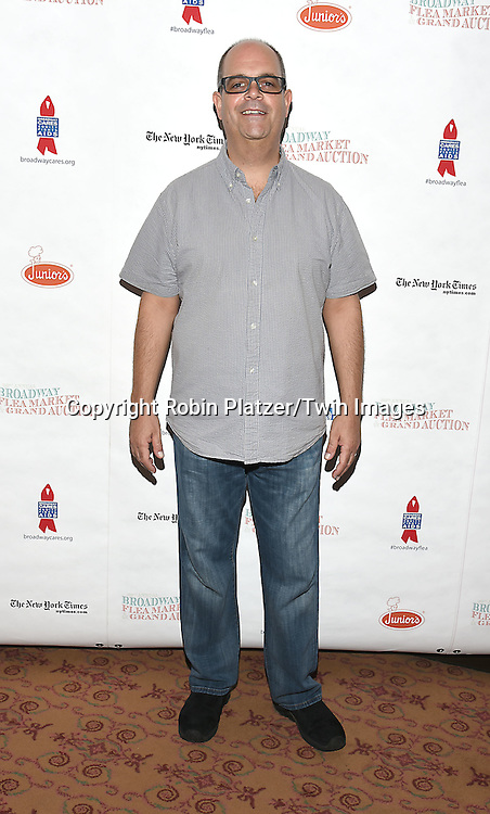 Brad Oscar attends the Broadway Cares/Equity Fights Aids Flea Market and Grand Auction on September 25, 2016 at the Music Box Theatre and in Shubert Ally in New York, New York, USA. <br /> <br /> photo by Robin Platzer/Twin Images<br />  <br /> phone number 212-935-0770
