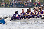 Boston, Rowing, 2006 Head of the Charles Regatta, Charles River, Cambridge, Massachusetts, USA, Collegiate Eights Men, University of St. Thomas,