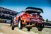 8th June 2017, Alghero, West Coast of Sardinia, Italy; WRC Rally of Sardina;  Mikkelsen