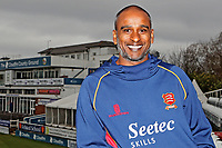 New Essex CCC Assistant Head Coach Dimitri Mascarenhas poses for a photograph at The Cloudfm County Ground on 5th March 2018