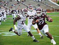 Super Bulldog Weekend Maroon &amp; White Game.<br />