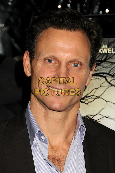 "TONY GOLDWYN  .""Conviction"" Los Angeles Premiere held at the Samuel Goldwyn Theater, Beverly Hills, California, USA, October 5th 2010..portrait headshot  black  blue shirt .CAP/ADM/BP.©Byron Purvis/AdMedia/Capital Pictures."