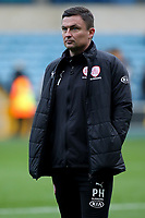 Barnsley Manager, Paul Heckingbottom during Millwall vs Barnsley, Emirates FA Cup Football at The Den on 6th January 2018