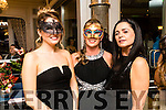 Rebecca Nardone, Yvonne Quill and Anne Greene, pictured at Pieta House Masquerade Ball on Friday night last held in the Rose Hotel, Tralee.