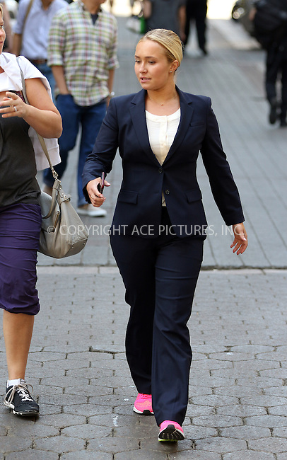 WWW.ACEPIXS.COM<br /> <br /> May 7 2015, New York City<br /> <br /> Actress Hayden Panettiere was on the set of the new movie 'Custody' on May 7 2015 in New York City<br /> <br /> By Line: Zelig Shaul/ACE Pictures<br /> <br /> <br /> ACE Pictures, Inc.<br /> tel: 646 769 0430<br /> Email: info@acepixs.com<br /> www.acepixs.com