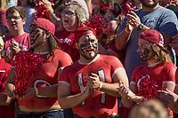 NWA Democrat-Gazette/BEN GOFF @NWABENGOFF<br /> Arkansas takes on New Mexico State Saturday, Sept. 30, 2017, at Razorback Stadium in Fayetteville.