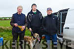 At the Ballyheigue Coursing on Sunday were Timmy Carmody, Gearoid Carmody and Pat O'Mahony with carmack chaos