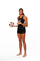 Stanford, CA -- January 16, 2019: Courtney Bowen, Beach Volleyball.