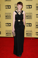 January 15, 2010:  Carey Mulligan arrives at the 15th Annual Critics' Choice Movie Awards held at the Palladium in Los Angeles, California. .Photo by Nina Prommer/Milestone Photo