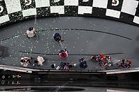 Prototype Champagne Celebration, #10 Konica Minolta Cadillac DPi-V.R. Cadillac DPi, DPi: Renger Van Der Zande, Jordan Taylor, Fernando Alonso, Kamui Kobayashi, #31 Whelen Engineering Racing Cadillac DPi, DPi: Felipe Nasr, Pipo Derani, Eric Curran, #7 Acura Team Penske Acura DPi, DPi: Helio Castroneves, Ricky Taylor, Alexander Rossi