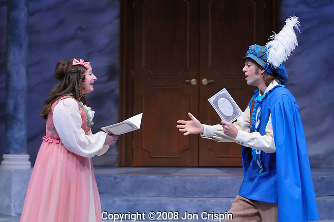 "UMASS production of ""The Imaginary Invalid""..© 2008 JON CRISPIN .Please Credit   Jon Crispin.Jon Crispin   PO Box 958   Amherst, MA 01004.413 256 6453.ALL RIGHTS RESERVED."