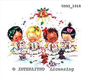 GIORDANO, CHRISTMAS CHILDREN, WEIHNACHTEN KINDER, NAVIDAD NIÑOS, paintings+++++,USGI1918,#XK#