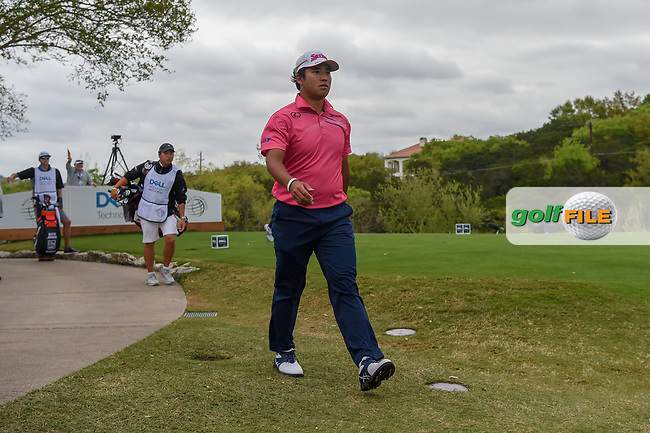 Hideki Matsuyama (JPN) heads down 3 during day 3 of the WGC Dell Match Play, at the Austin Country Club, Austin, Texas, USA. 3/29/2019.<br /> Picture: Golffile | Ken Murray<br /> <br /> <br /> All photo usage must carry mandatory copyright credit (© Golffile | Ken Murray)