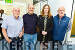 Ollie Switzer, Richard Hurley, Norma O'Connor (crew on RNLI)  and Gerard O'Donnell (RNLI Operations Manager) supporting the RNLI Fundraising meal at the IT Tralee on Tuesday evening.