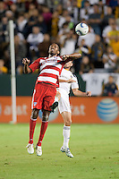 CARSON, CA – NOVEMBER 14: FC Dallas Jackson Gonsalves (6) during the Western Conference Final soccer match at the Home Depot Center, November 14, 2010 in Carson, California. Final score LA Galaxy 0, Dallas FC 3.