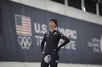 SPEEDSKATING: SALT LAKE CITY: 07-12-2017, Utah Olympic Oval, training ISU World Cup, Brittany Bowe (USA), ©photo Martin de Jong