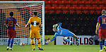 Steau score goal no 3 past keeper John Ruddy