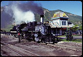 D&amp;RGW #473 K-28 - Durango (McDonalds in background)<br /> D&amp;RGW  Durango, CO