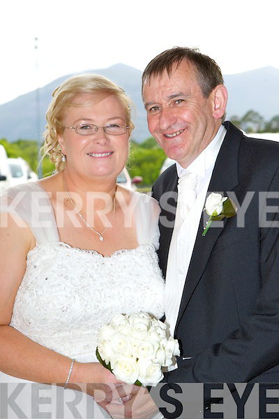 Majella Kiely, Limerick and Michael O'Gorman, Killarney who were married in a civil ceremony the Killarney Oaks Hotel on Thursday best man was Adrian Sullivan, bridesmaid was Sharon Whitener, flower girls were Kaeli and Abby Whitener the couple will reside in Killarney