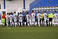 MARBELLA  - Voetbal, Club Brugge - FC Groningen, Trainingskamp , seizoen 2017-2018, 10-01-2018,  opstootje in de slotfase van het duel