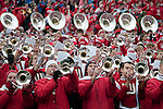 Wisconsin Badgers band plays during an NCAA college football game against the Indiana Hoosiers on November 13, 2010 at Camp Randall Stadium in Madison, Wisconsin. The Badgers won 83-20. (Photo by David Stluka)