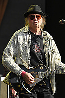 JUL 12 Neil Young performing at British Summertime 2019
